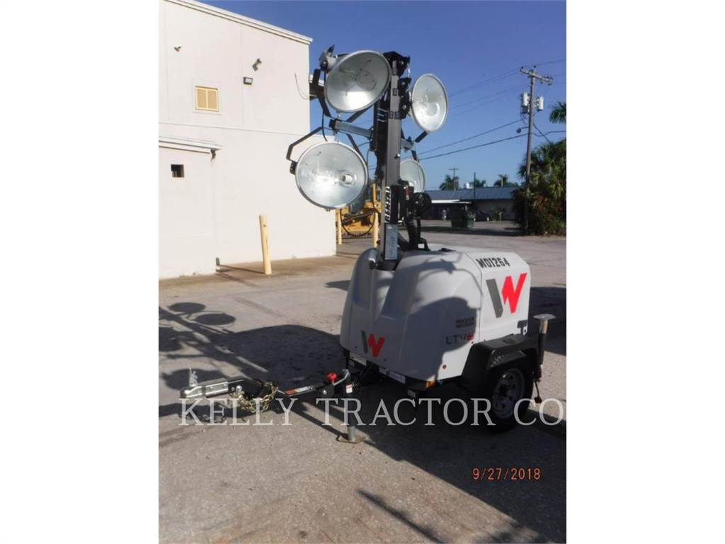 Wacker LTV6L, light tower, Construction