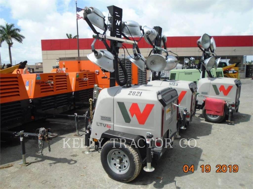 Wacker LTV6L, leichter turm, Bau-Und Bergbauausrüstung