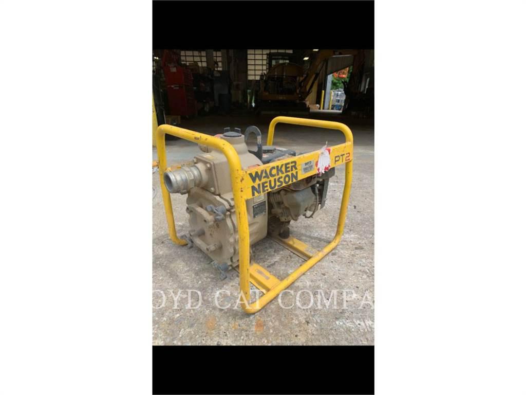 Wacker PT2A WAC, Pompe à eau / Motopompe, Équipement De Construction