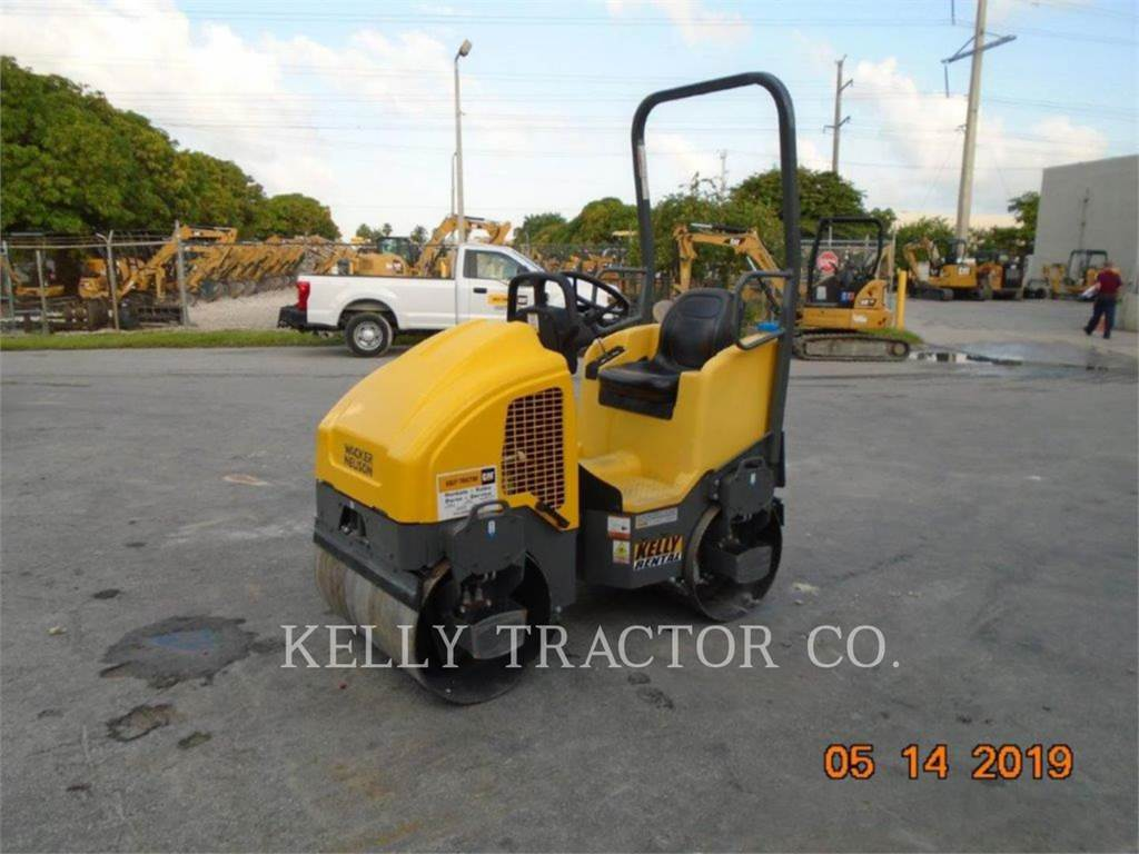 Wacker RD12A 90, Twin drum rollers, Construction
