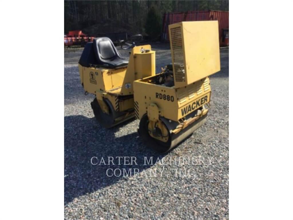 Wacker ROLLER、土壤压实机、建筑设备