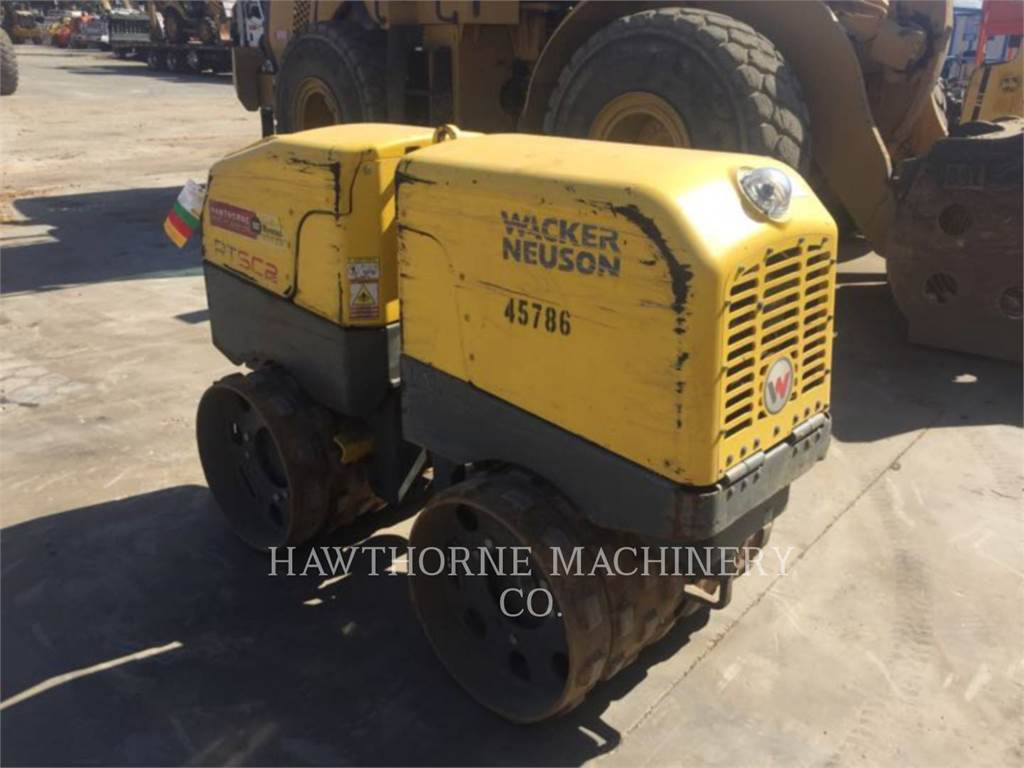 Wacker RT82-SC, Waste Compactors, Construction