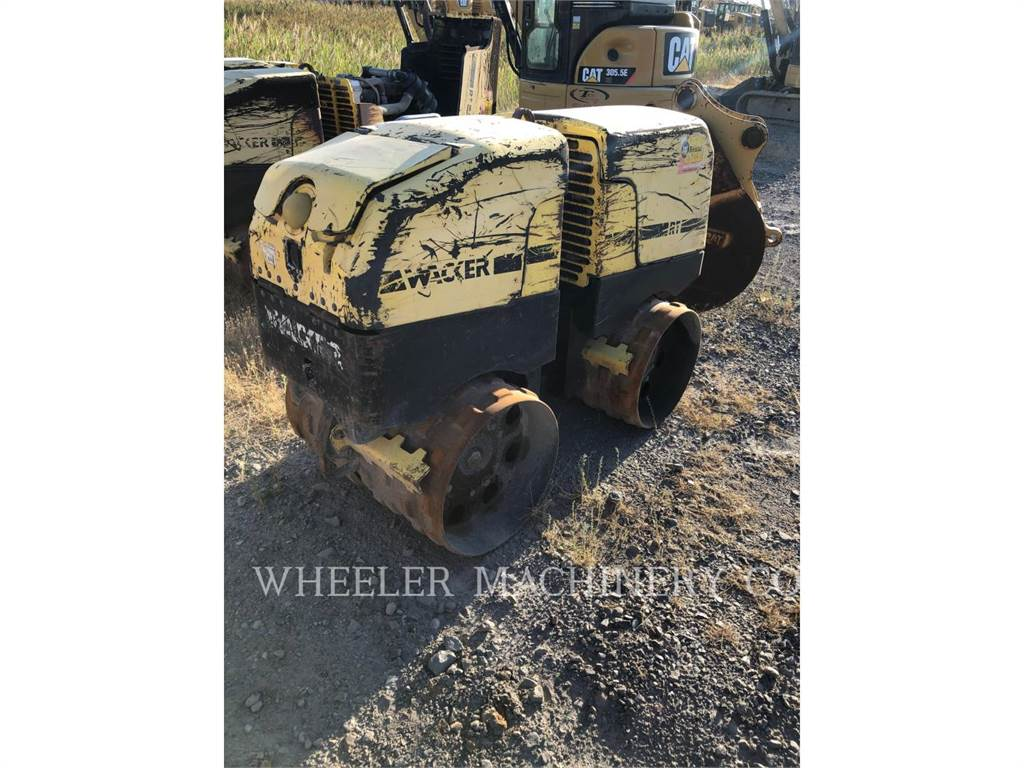 Wacker RT82-SC, combination rollers, Construction