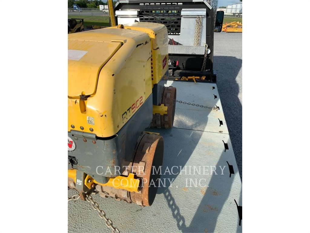 Wacker RT82-SC2, Compactors, Construction