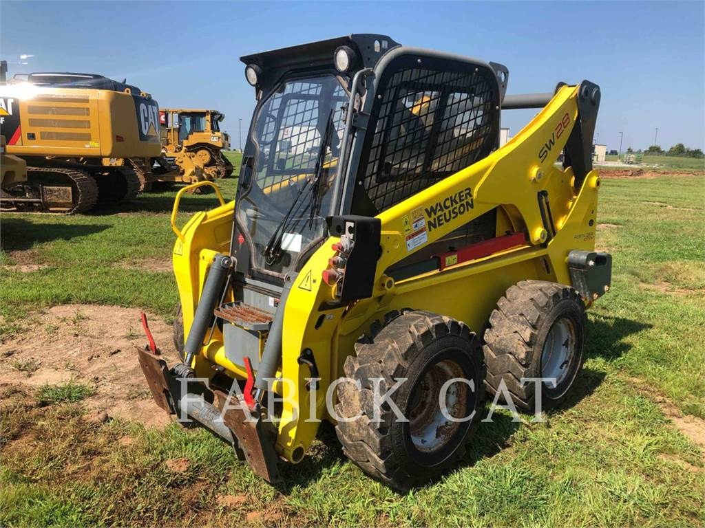 Wacker SW28, Skid Steer Loaders, Construction