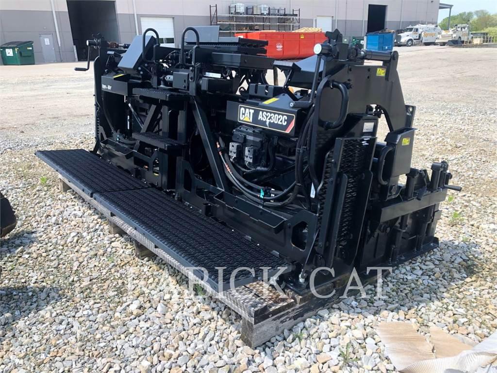 Weiler AS2302C, tracteurs sur pneus - table de finisseur, Équipement De Construction