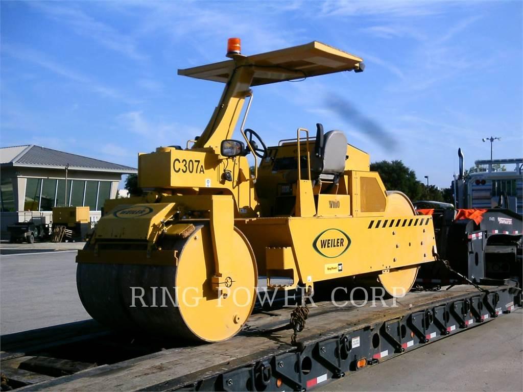Weiler C307, Twin drum rollers, Construction