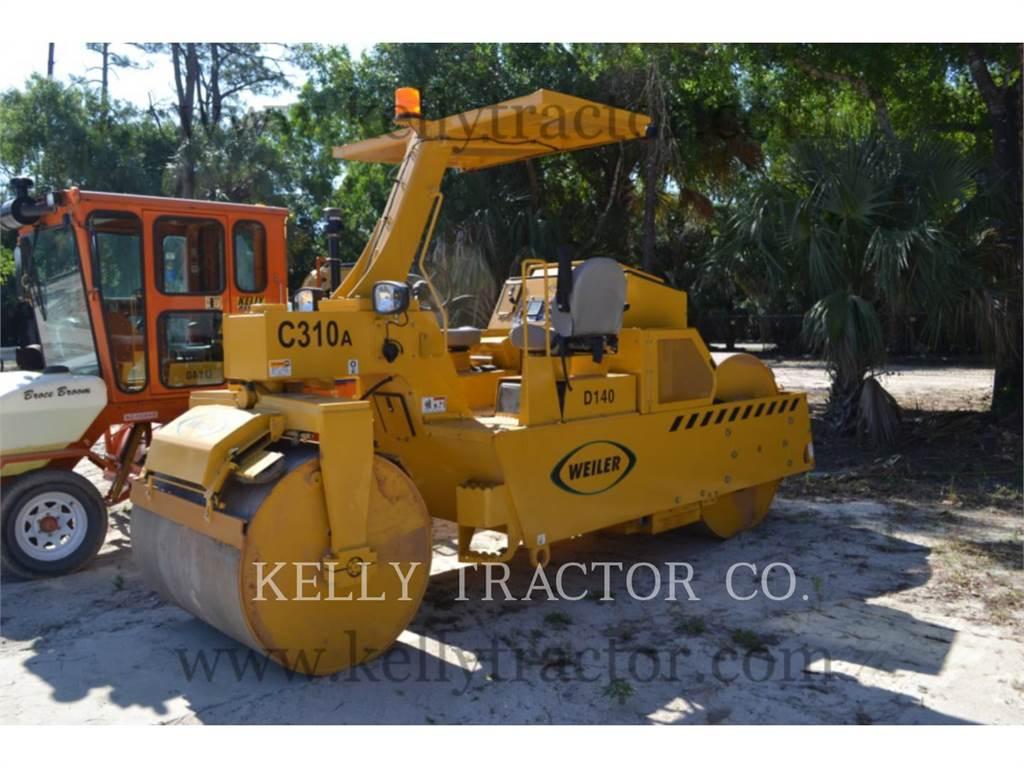 Weiler C310, Compactors, Construction