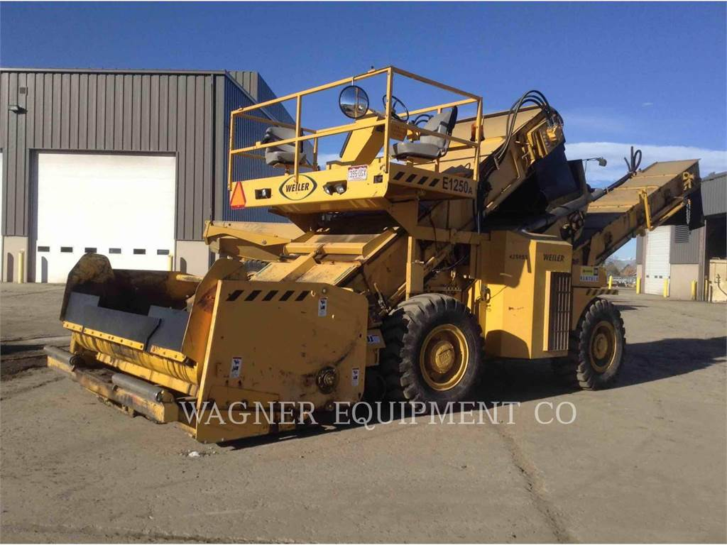 Weiler E1250A, Finisseur, Équipement De Construction