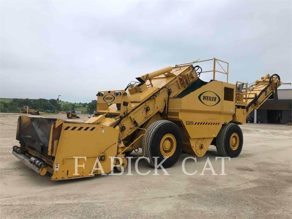 Weiler E2850, Plantas mezcladoras de asfalto, Construcción