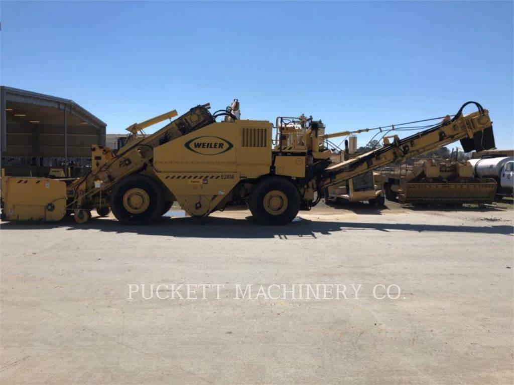 Weiler E2850, Petroleum Engines, Construction