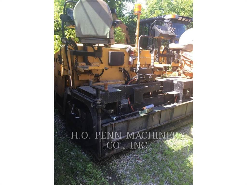 Weiler P 385, Asphalt pavers, Construction