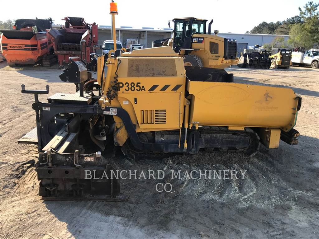 Weiler P 385 A, Asphalt pavers, Construction