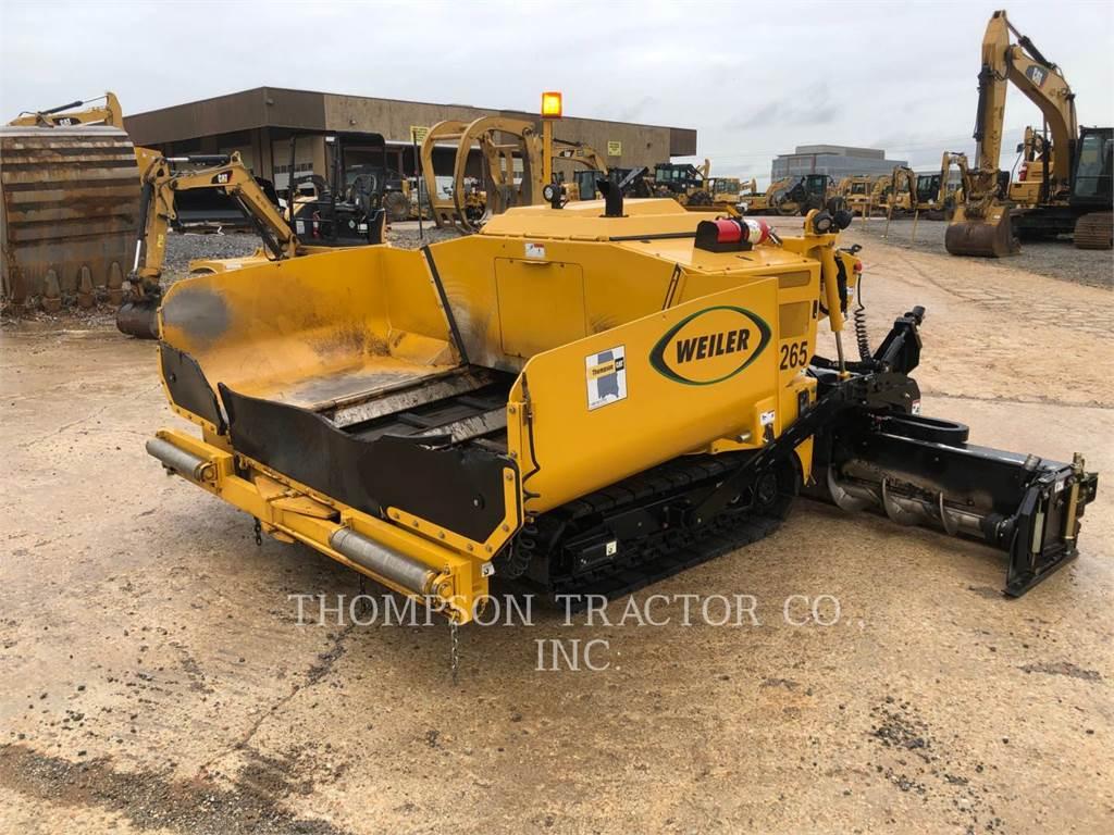 Weiler P265, Asphalt pavers, Construction