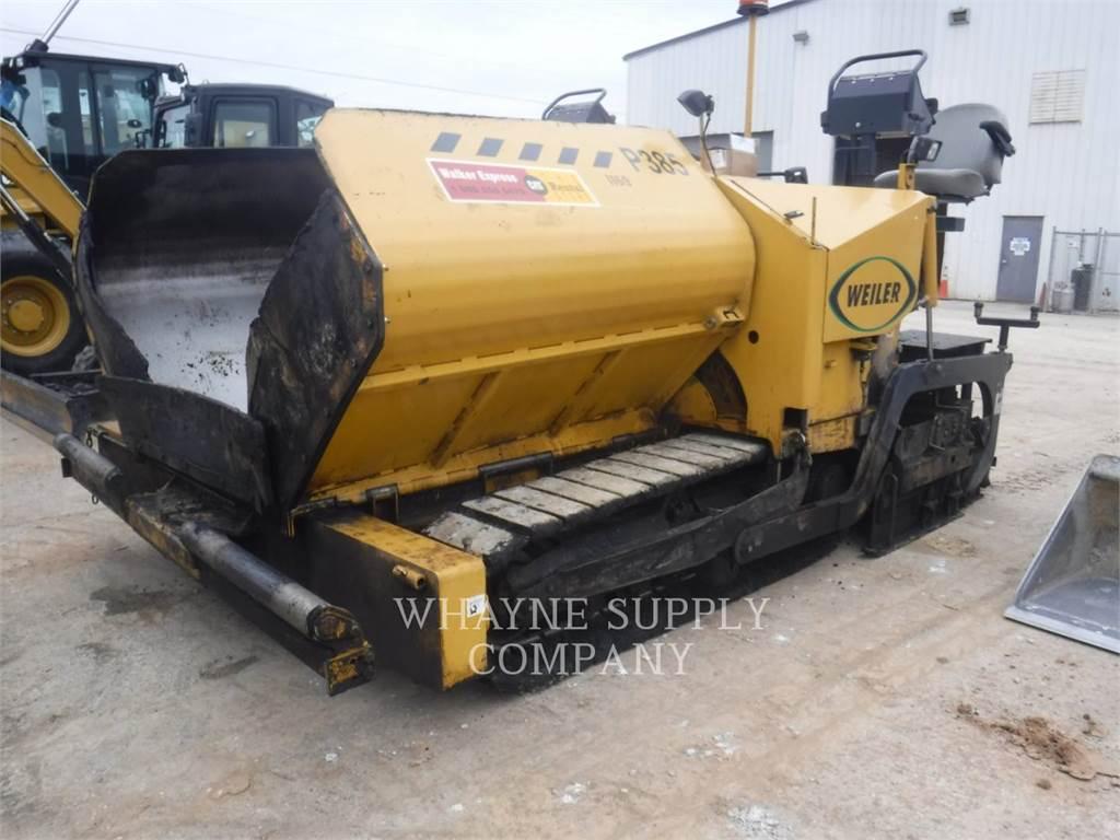 Weiler P385, Strassenfertiger, Bau-Und Bergbauausrüstung