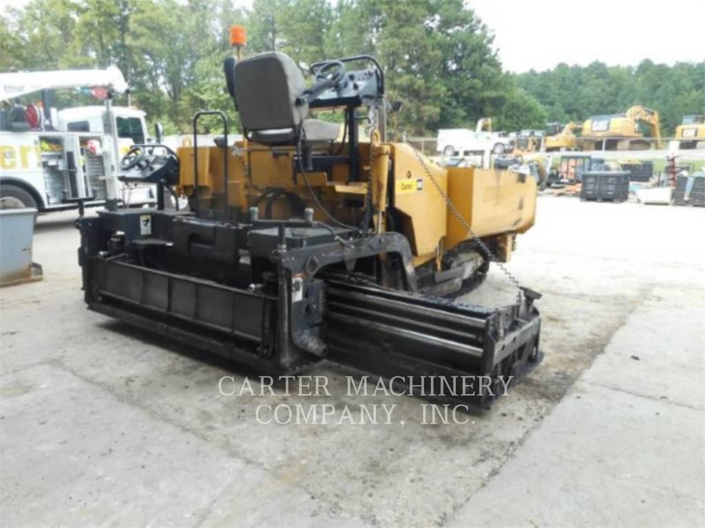 Weiler P385, Asphalt pavers, Construction