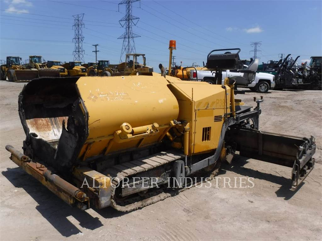 Weiler P385A, Asphalt pavers, Construction