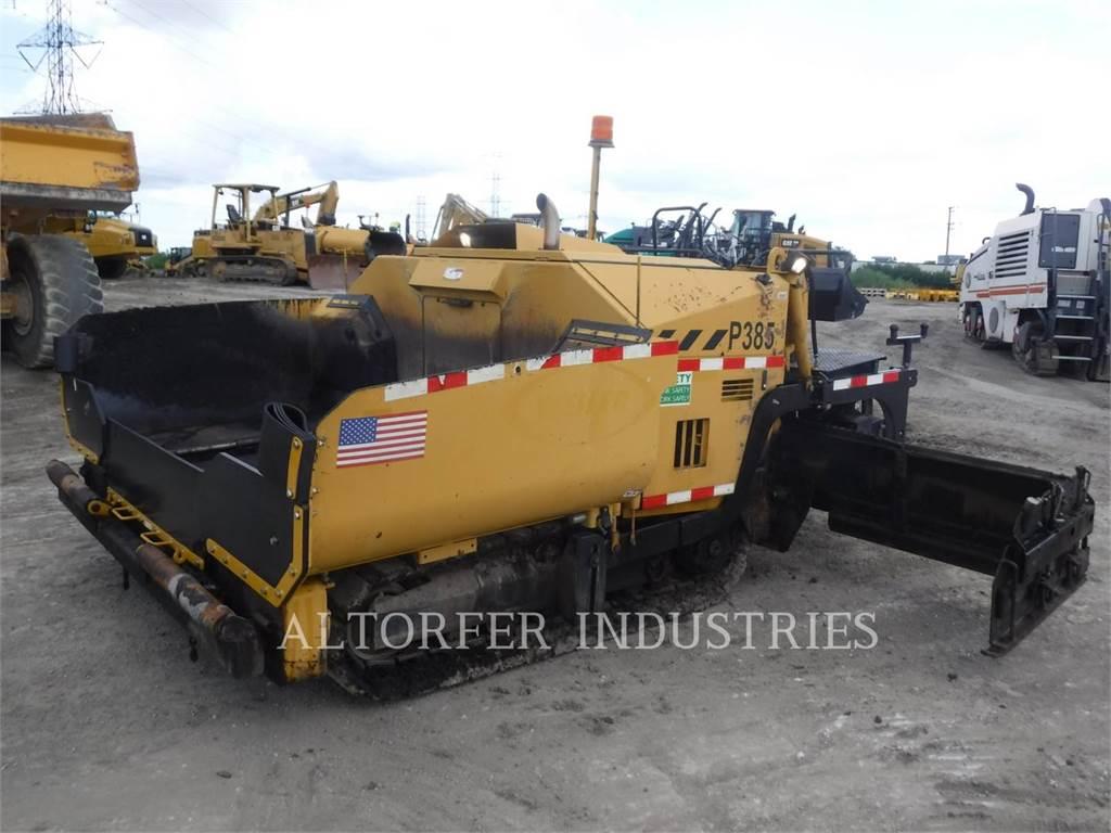Weiler P385A HYPU, Rozściełacze do asfaltu, Sprzęt budowlany