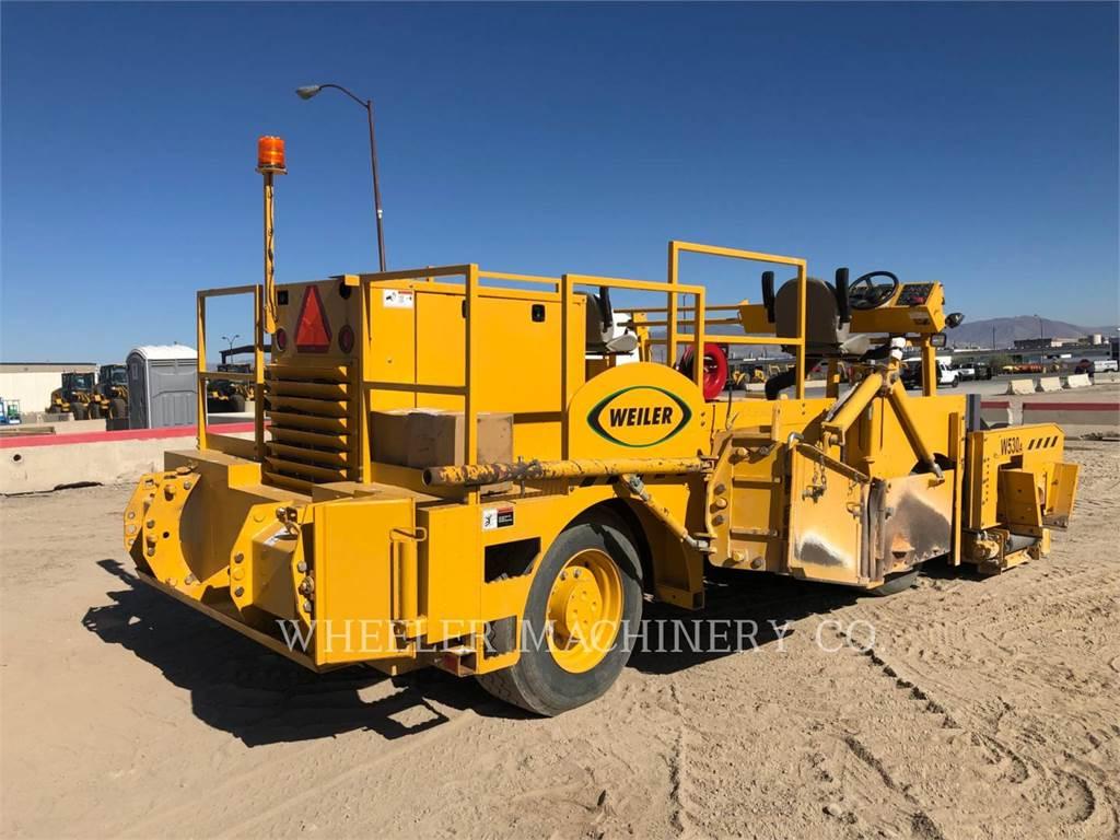 Weiler W530A, Asphalt pavers, Construction