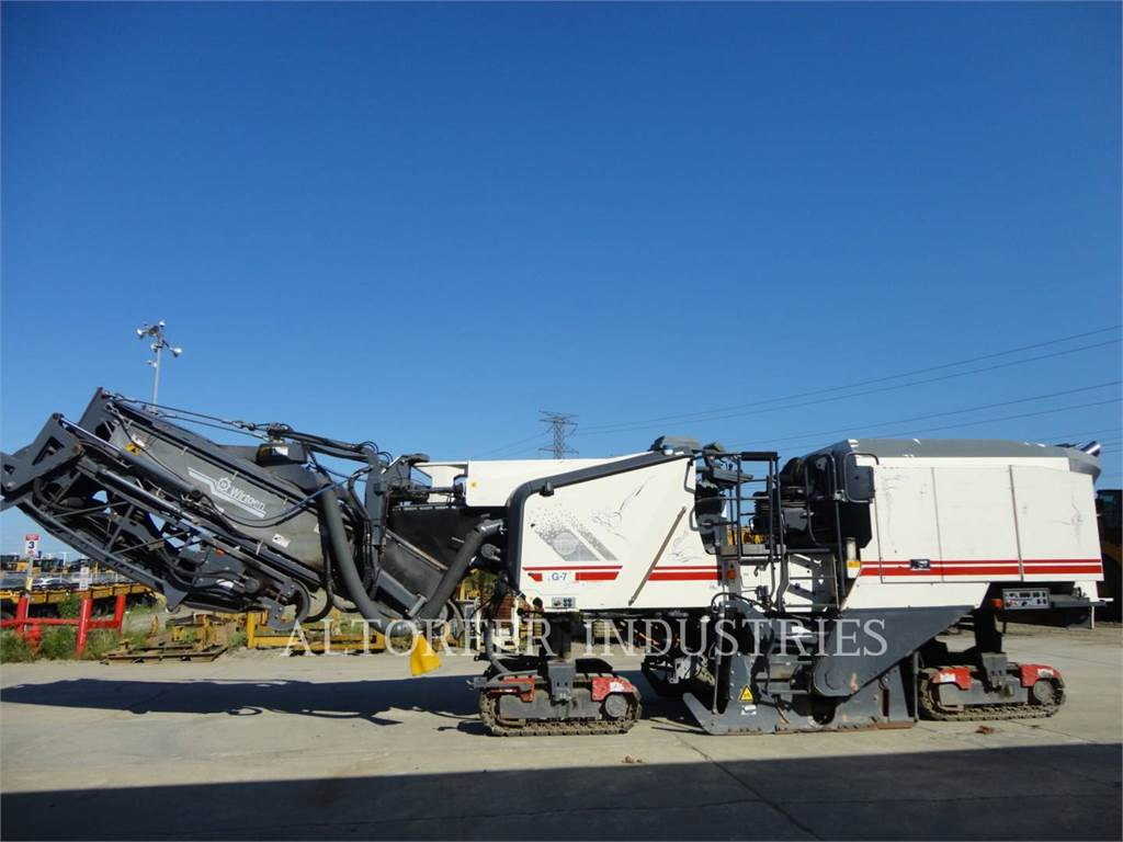 Wirtgen W200I, Asphalt cold milling machines, Construction