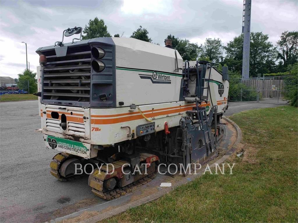 Wirtgen W210, Asphalt cold milling machines, Construction