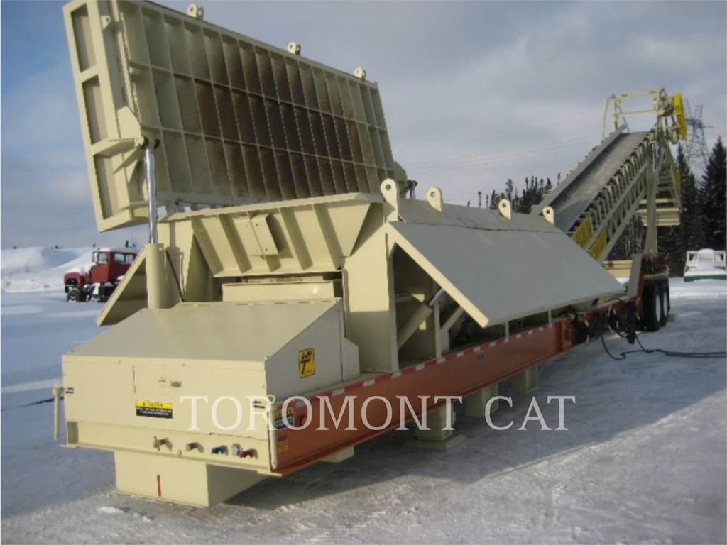 WRT EQUIPMENT 8X16, Crivos, Equipamentos Construção