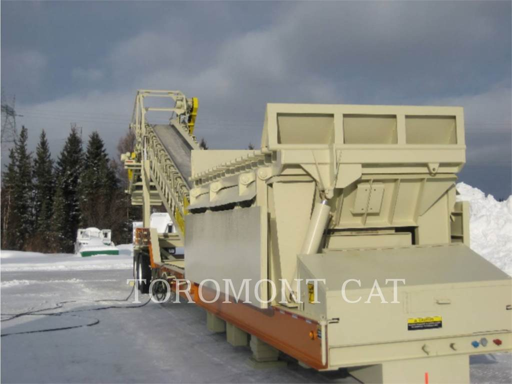 WRT EQUIPMENT 8X16, Screeners, Construction