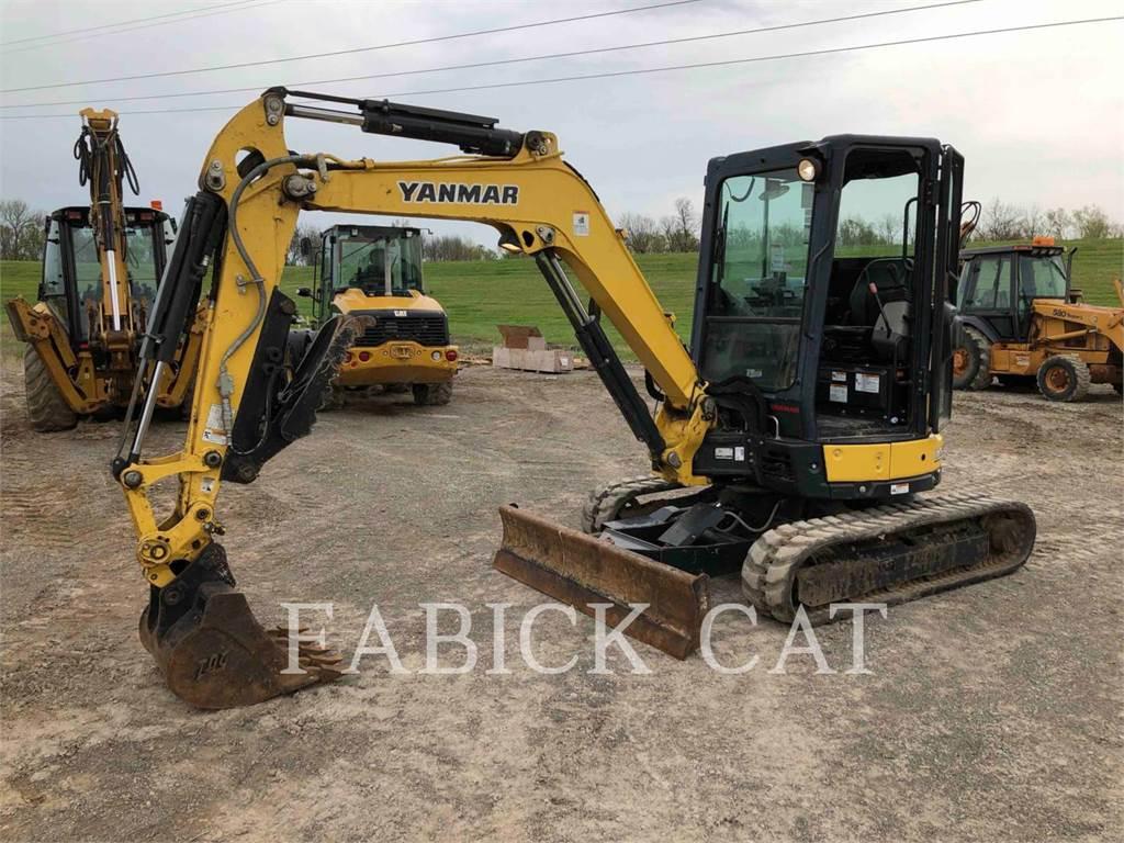Yanmar VIO35, Pelle sur chenilles, Équipement De Construction