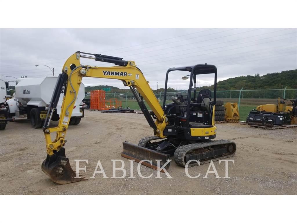 Yanmar VIO35, Crawler Excavators, Construction
