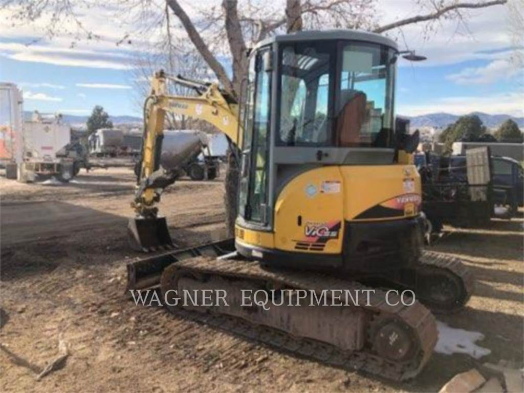 Yanmar VIO55-5B, Crawler Excavators, Construction