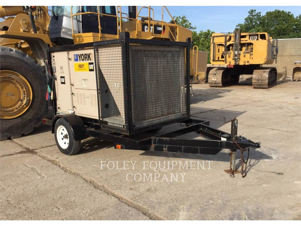 York AC10T, Used Ground Thawing Equipment, Construction