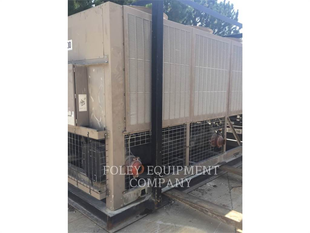 York CHILL104T, Used Ground Thawing Equipment, Construction