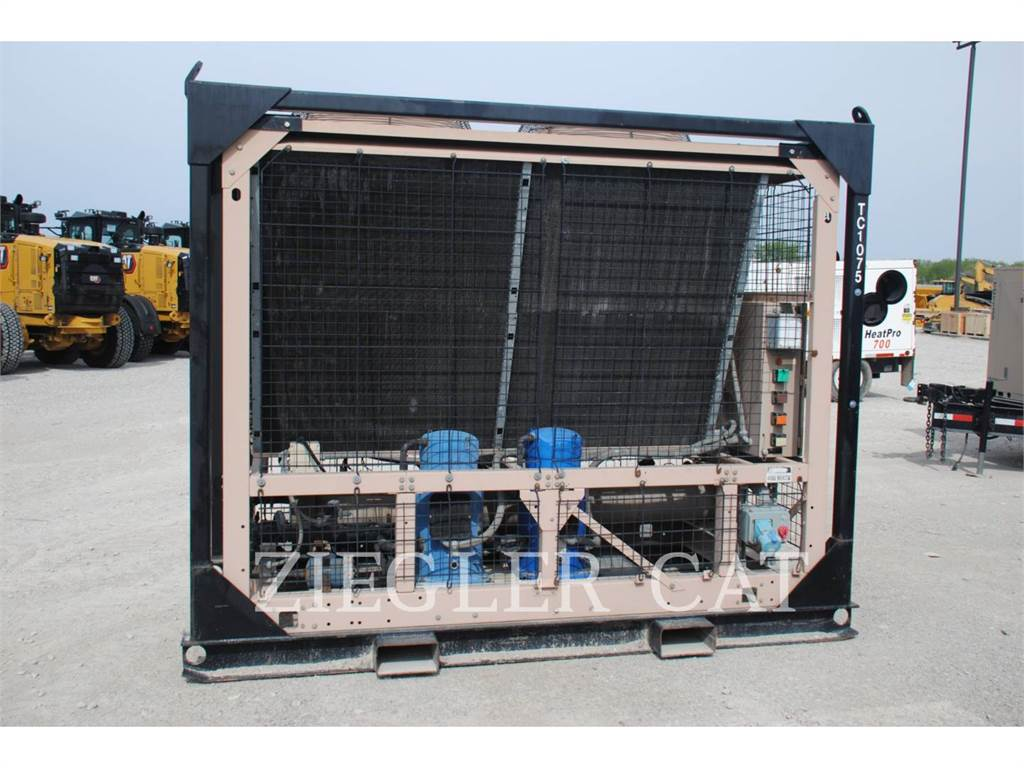 York PY-25, Used Ground Thawing Equipment, Construction
