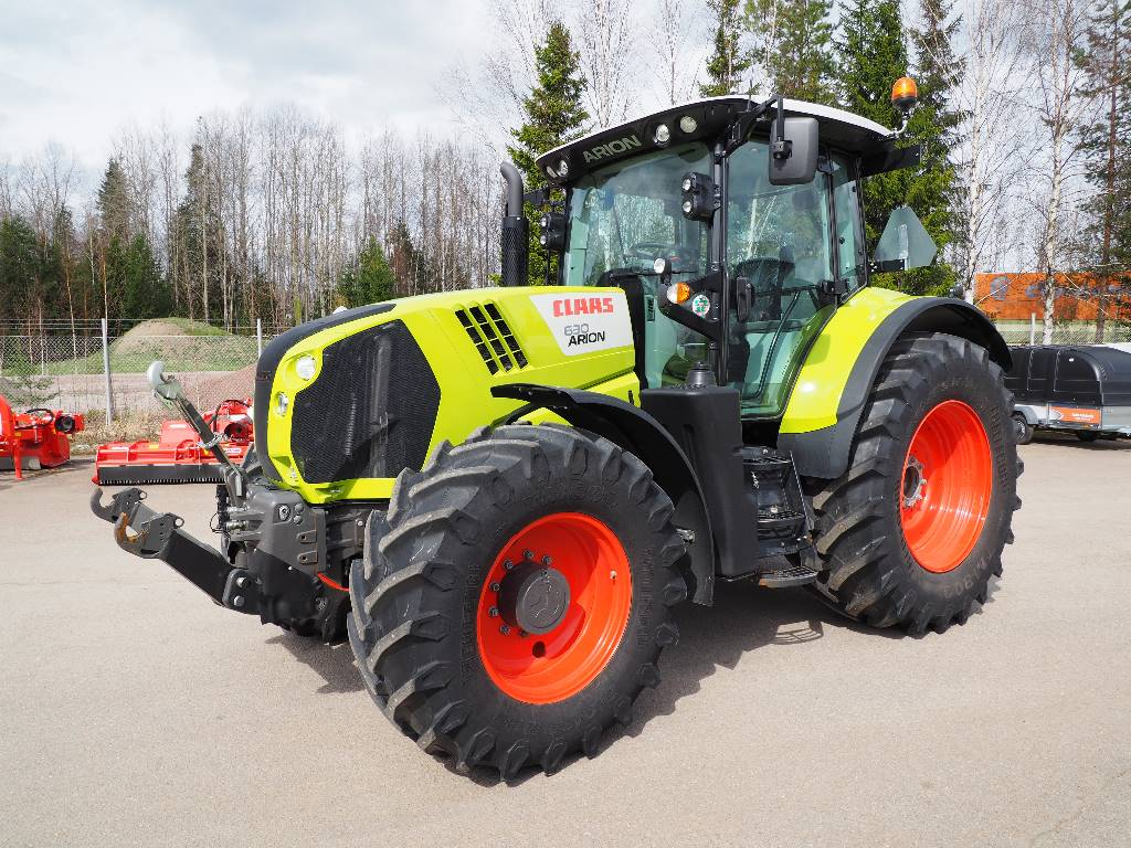 CLAAS Arion 630, Tractors, Agriculture