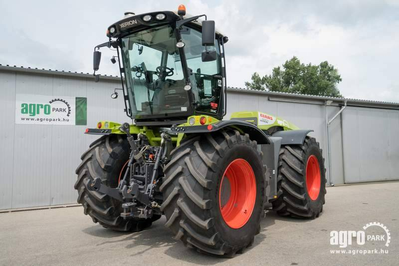 CLAAS Xerion 5000 VC with variable cab (2521 hours)