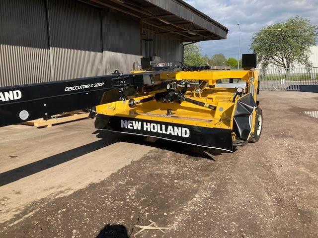 New Holland C 320 P Collector, Slåtterkrossar, Lantbruk