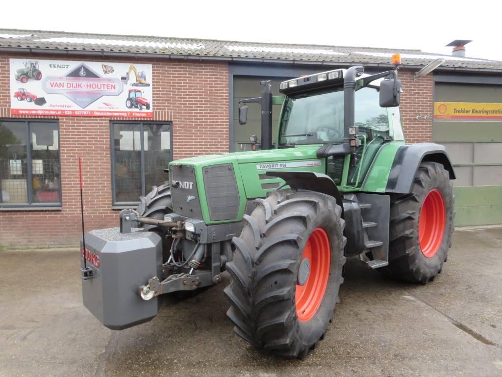 Fendt 916 vario, Tractoren, Landbouw
