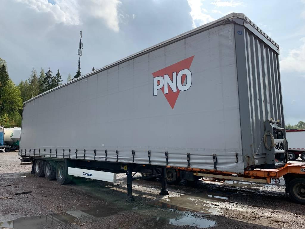 Krone säädettävä korkeus Vyökapelli, Curtainsider semi-trailers, Transportation