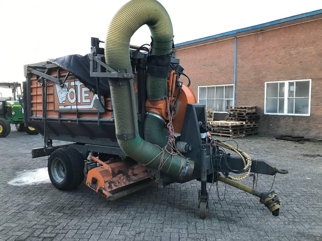 Votex UP/GO 570-5T bladzuigwagen, Afvalverwijderingsapparatuur, Terreinbeheer