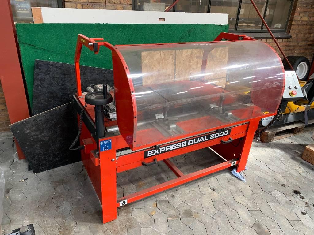 Bernard Express Dual 2000 reel grinder, Utility equipment, Turfcare