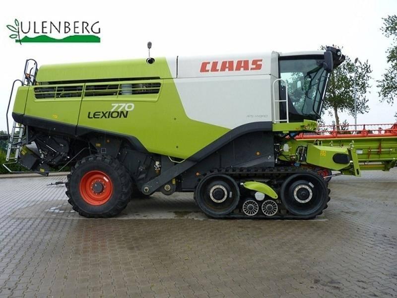 CLAAS Lexion 770 TT +V1200+WÓZEK TRANSPORTOWY, Kombajny zbożowe, Maszyny rolnicze