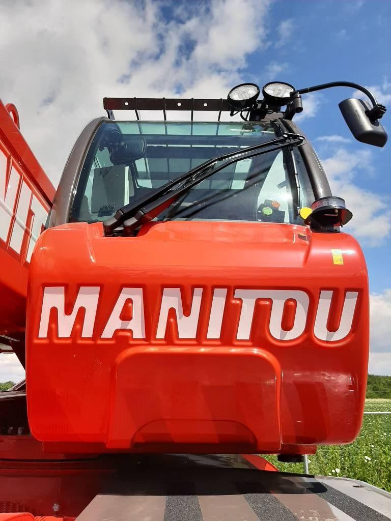 Manitou MRT 2150 Plus Privilege, Verreikers, Bouw