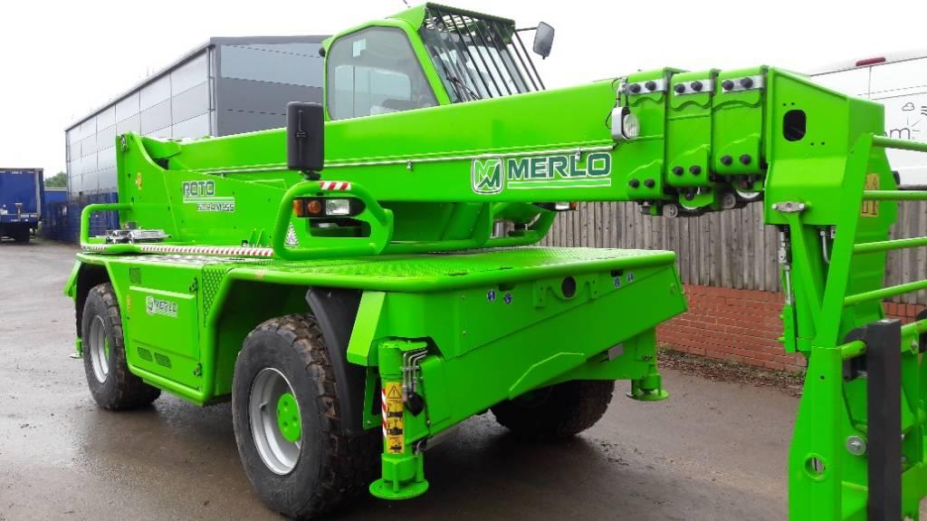 Merlo Roto 60.24 MCSS, Telescopic handlers, Construction