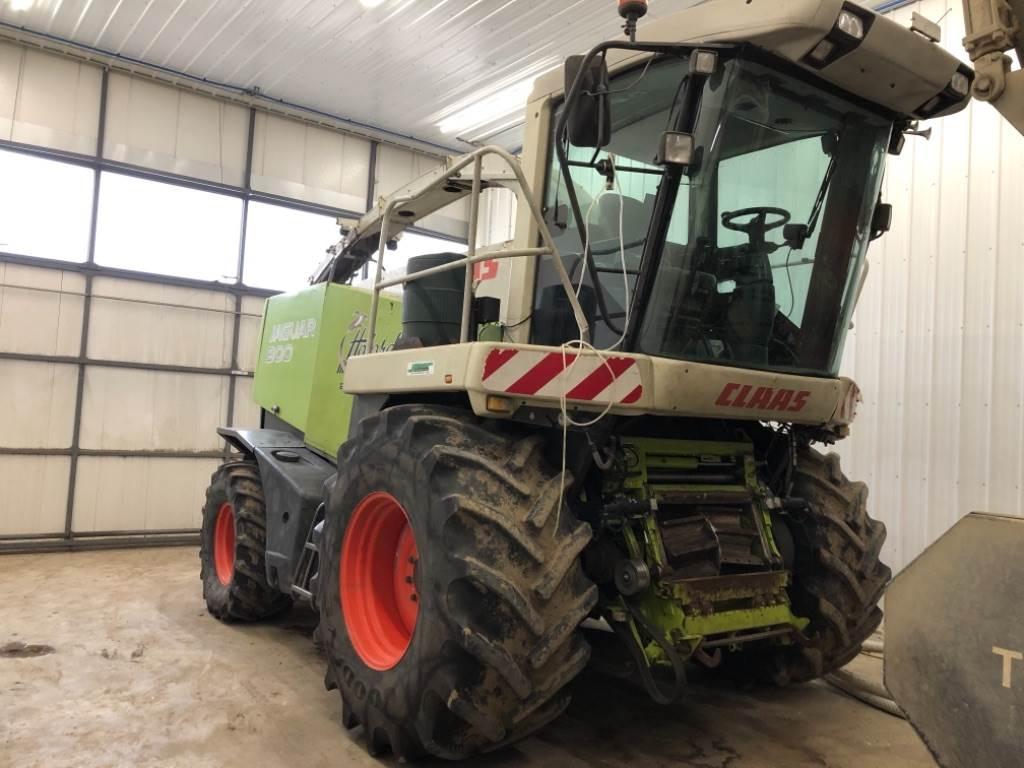 CLAAS Jaguar 900, Forage harvesters, Agriculture