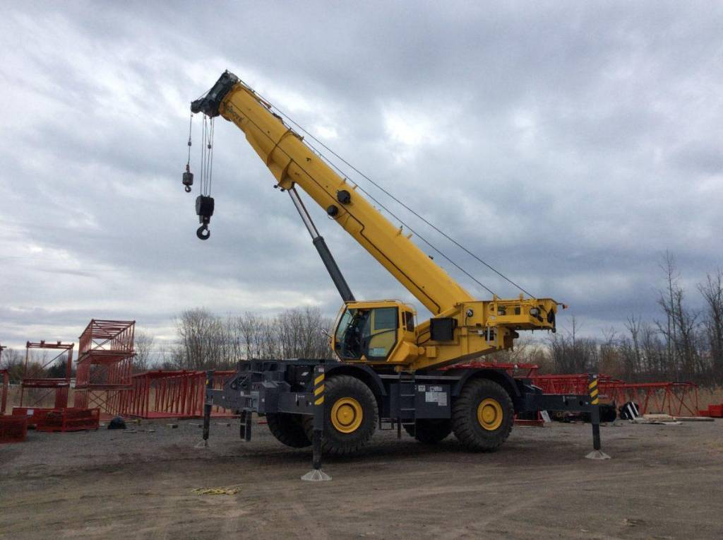 Grove GRT8100, Tower Cranes, Construction Equipment