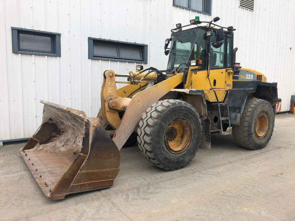 Komatsu WA320-5, Wheel Loaders, Construction Equipment