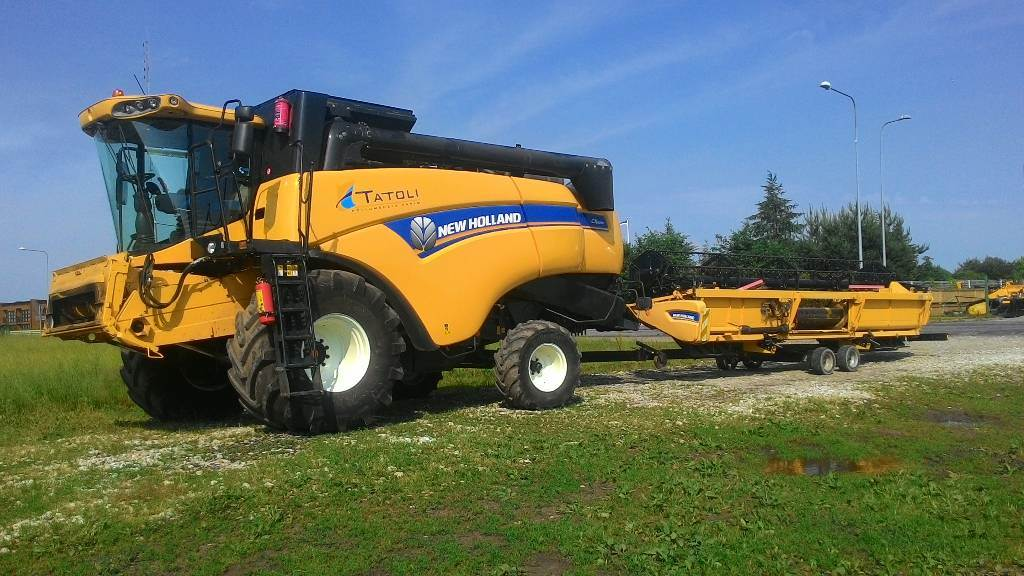 New Holland CX6090, Kombainid, Põllumajandus