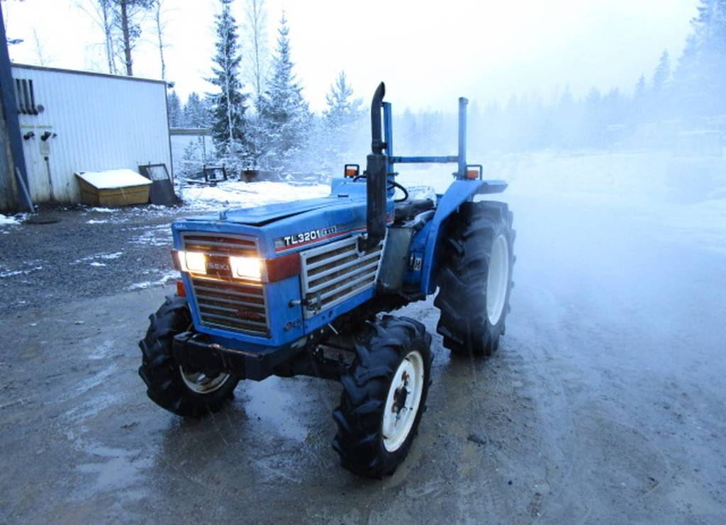 Iseki 3201 4wd traktori