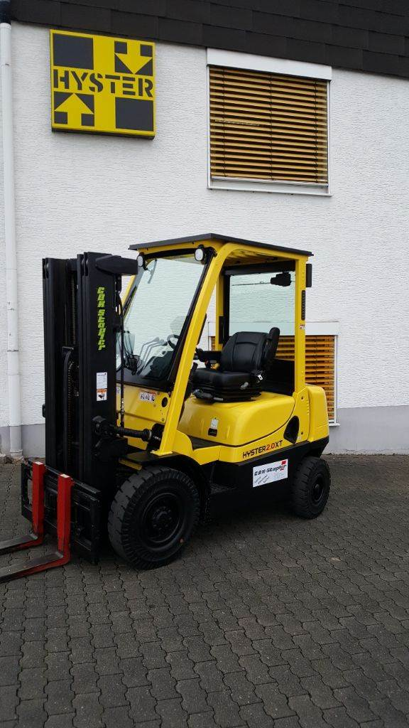 Hyster H2.0 XT, Diesel counterbalance Forklifts, Material Handling