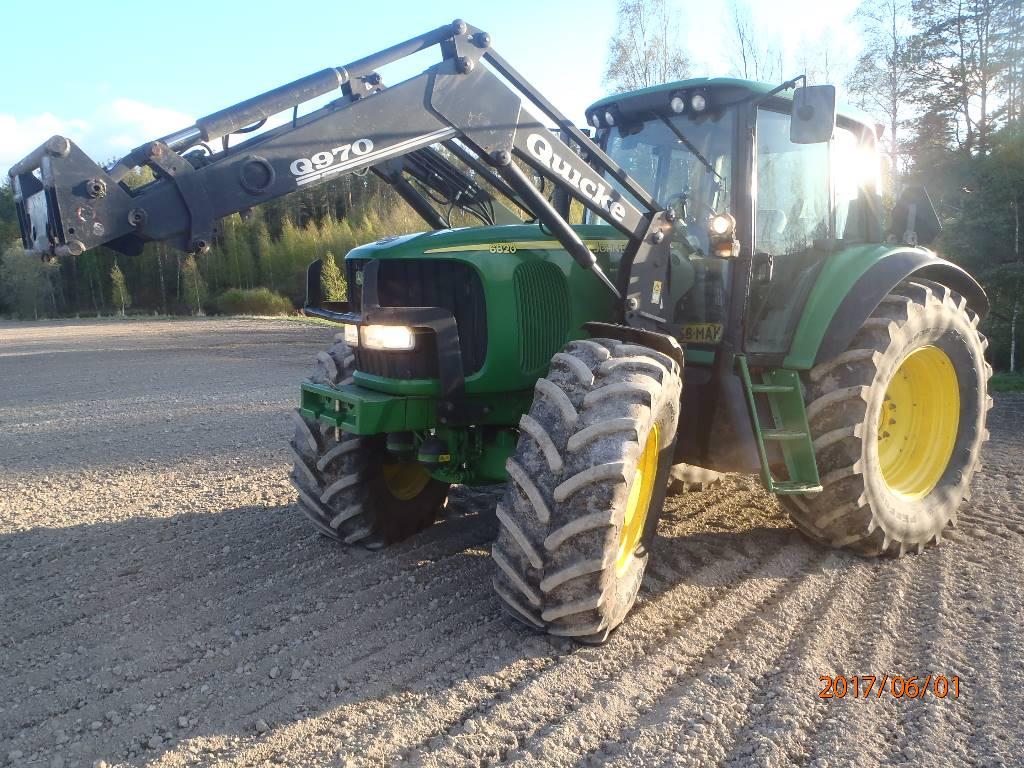 John Deere 6820 Premium, Traktorit, Maatalous